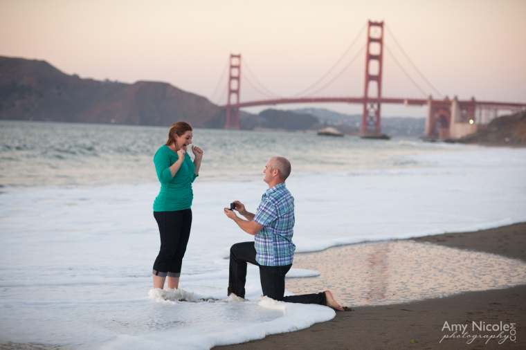 Baker Beach Engagement, Amy Nicole Photography